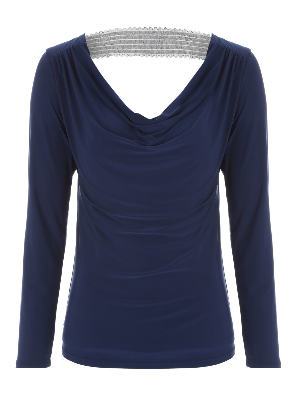 Womens Embelished Cowl Back Long Sleeve Top Jane Norman Cheap Sale Newest Buy Cheap Shop For For Sale Buy Authentic Online Discount Sast Best Sale Cheap Price qCgmi34