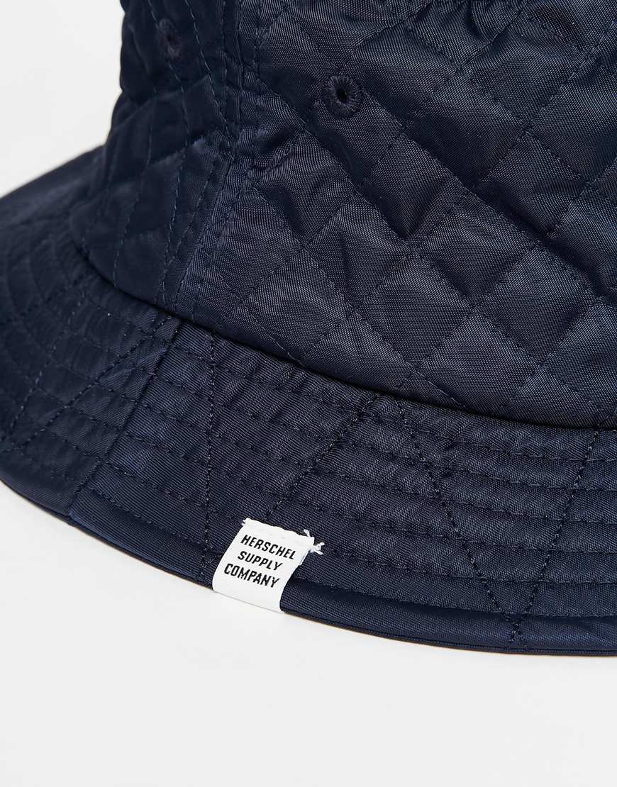 bf45de604eb Lyst - Herschel Supply Co. Lake Quilted Bucket Hat in Blue for Men