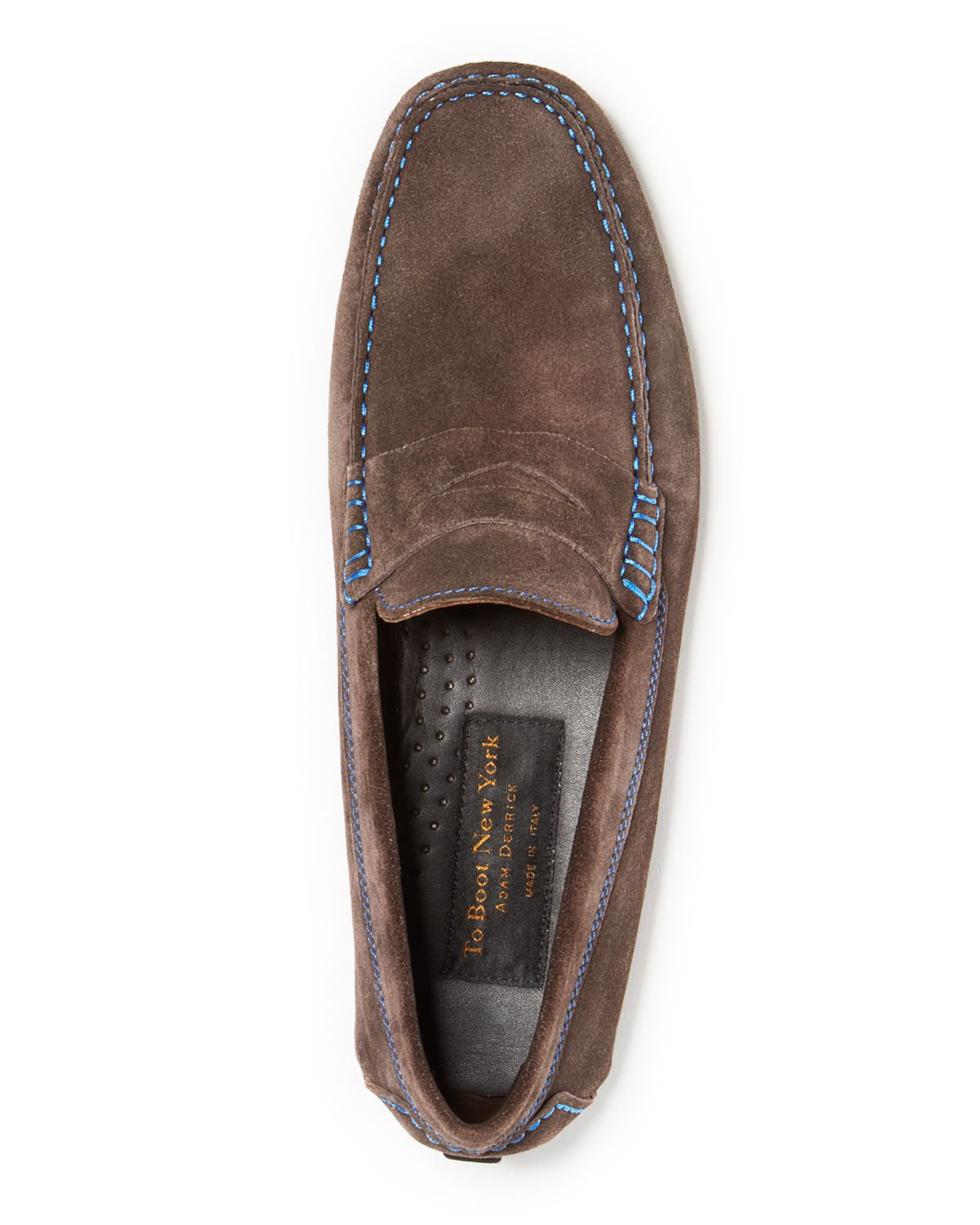 to boot ashton suede driving loafers in brown for