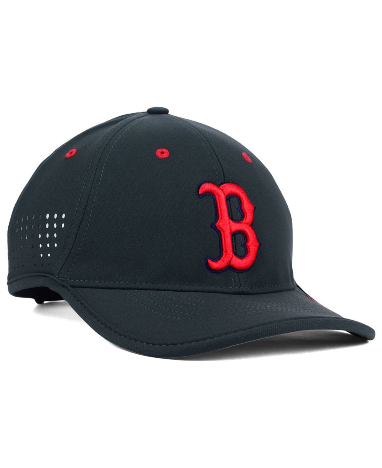Lyst - Nike Boston Red Sox Vapor Swoosh Adjustable Cap in Gray for Men 4f9380bf0a8