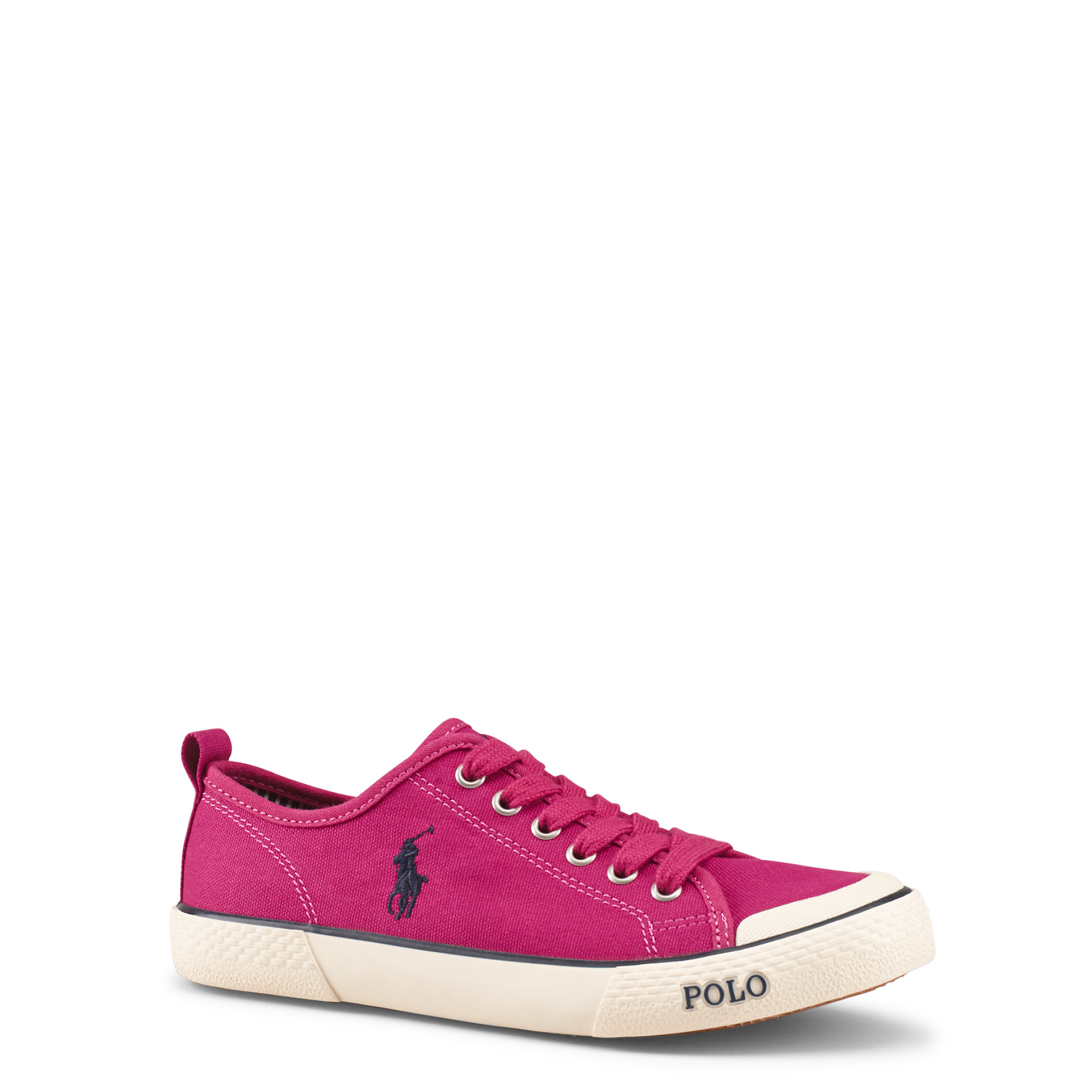 Lyst - Ralph Lauren Carlisle Ii Sneaker in Pink af70430d8f2