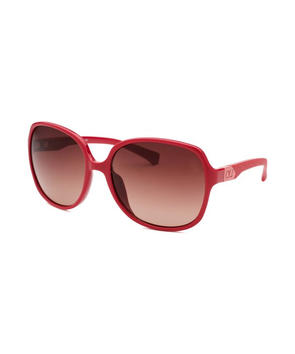 womens red sunglasses  Calvin klein Women\u0027s Oversized Red Sunglasses in Red