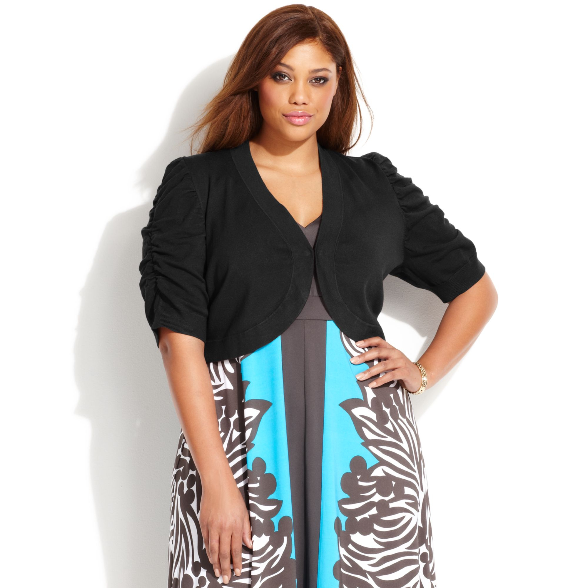 Plus Size Shrugs