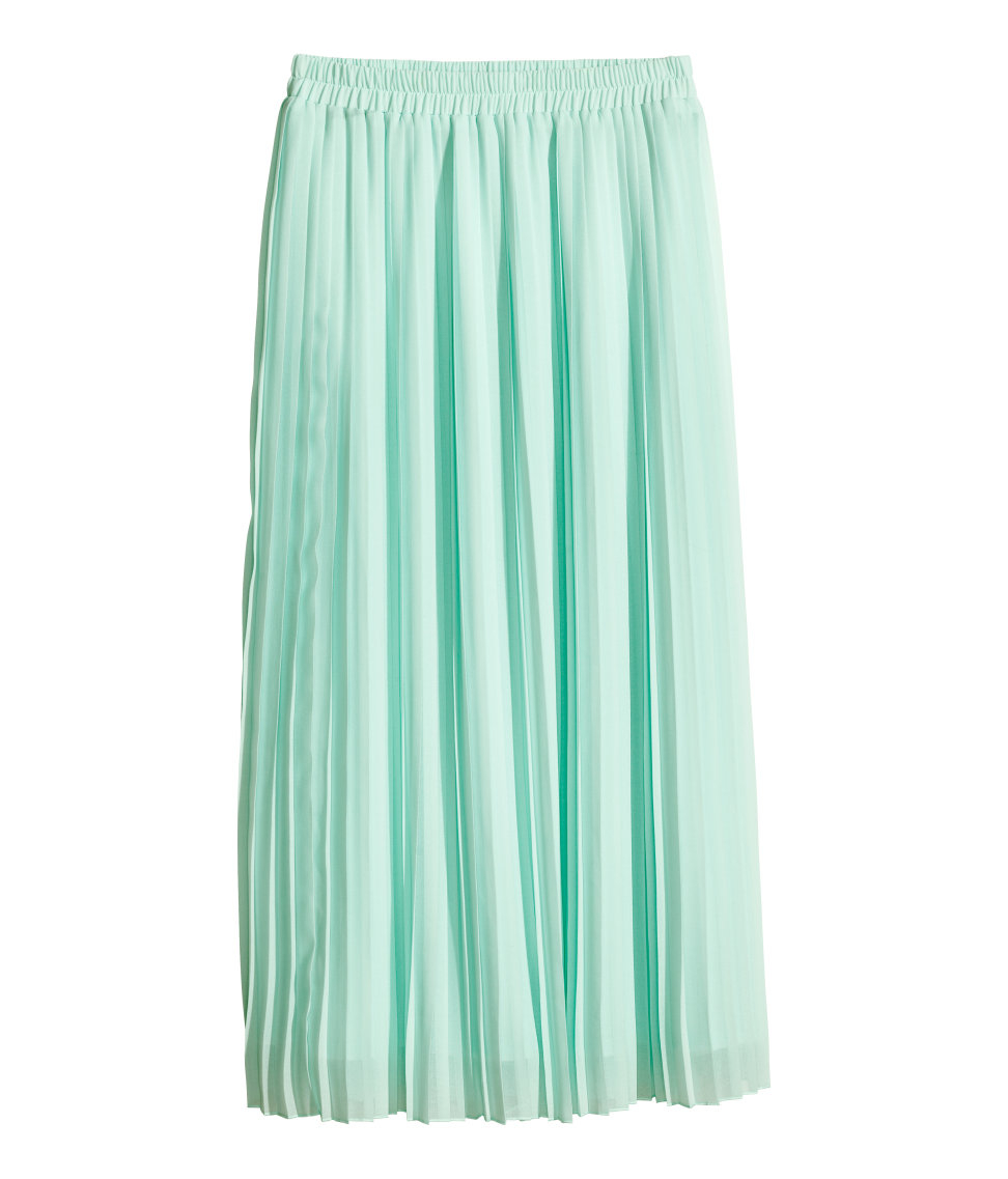 Shop for MINT GREEN M Pleated Tulle Midi Skirt online at $ and discover fashion at s2w6s5q3to.gq Cheapest and Latest women & men fashion site including categories such as dresses, shoes, bags and jewelry with free shipping all over the world.