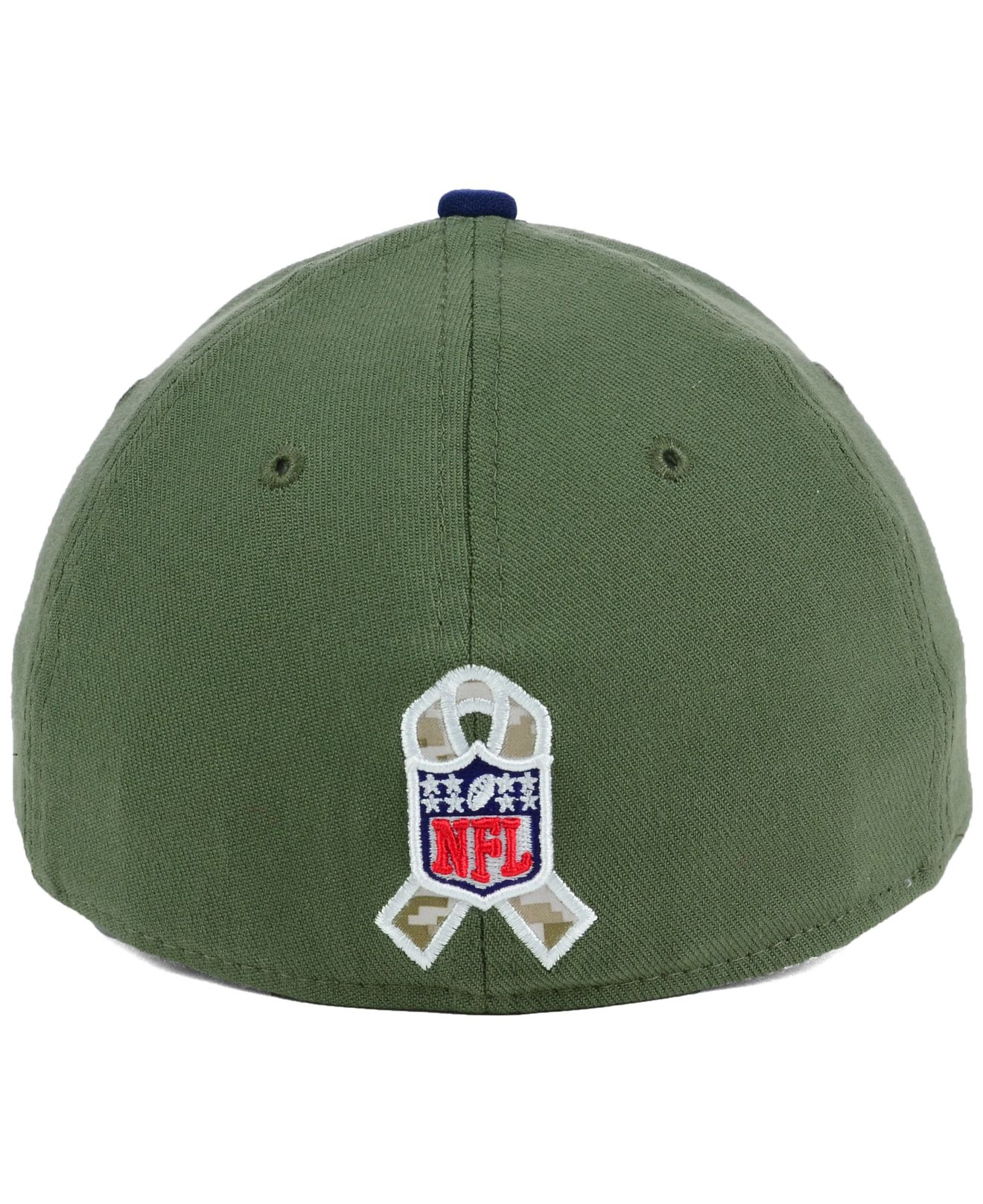 94d46b73320 Lyst - KTZ New England Patriots Salute To Service 39thirty Cap in ...