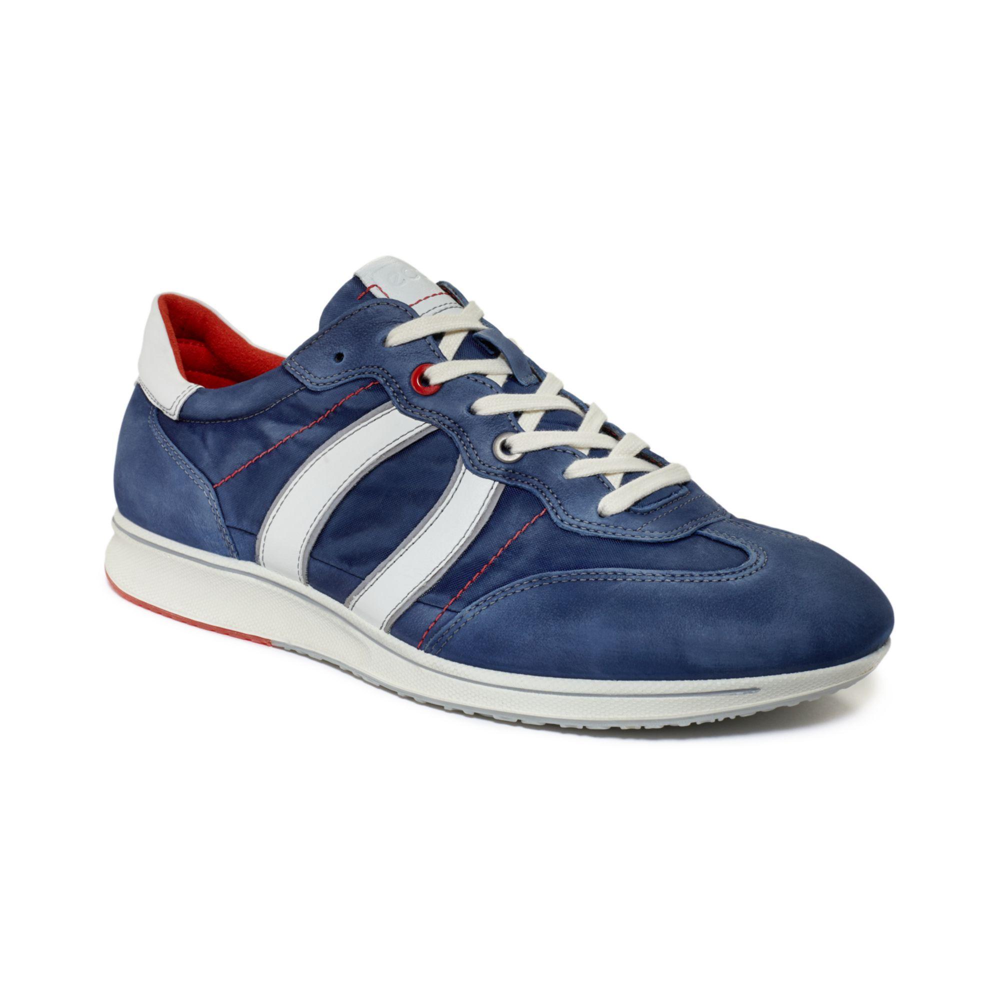 Ecco Blue Shoes