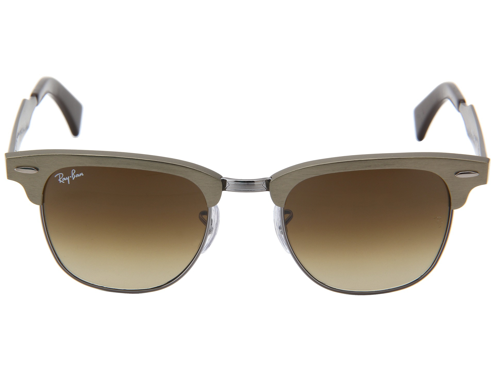 ray ban gold clubmaster  Ray Ban Gold Clubmaster - Ficts