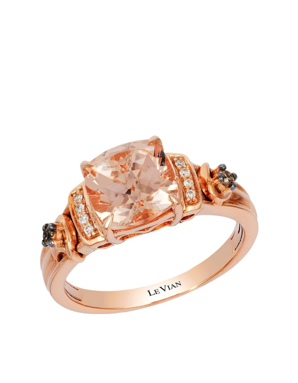 Le Vian Chocolate Diamond Rings Strawberry Gold - Pumpkin ...