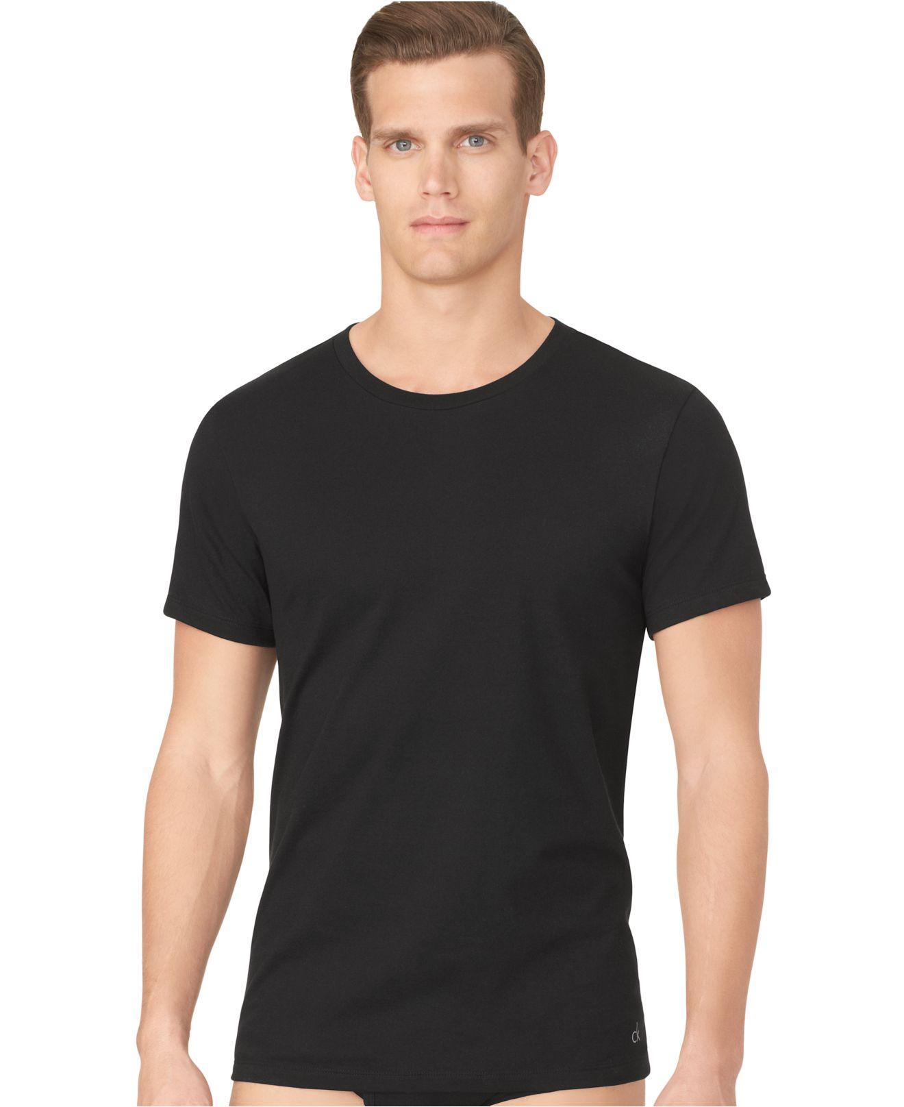 calvin klein men 39 s classic crew neck t shirt 3 pack in