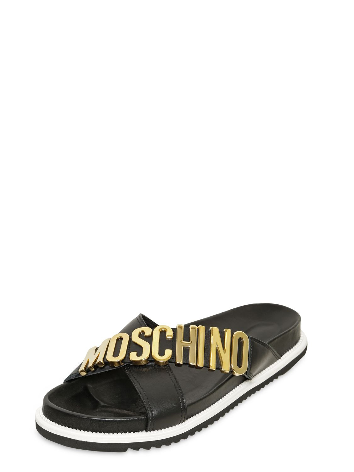 Moschino Logo slides 7gI2CUT4W