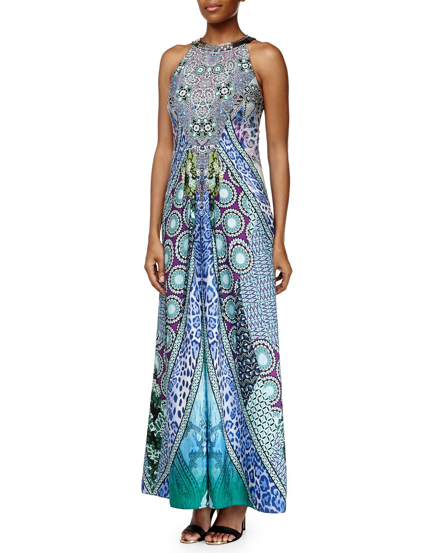Ranna gill beaded maxi dress