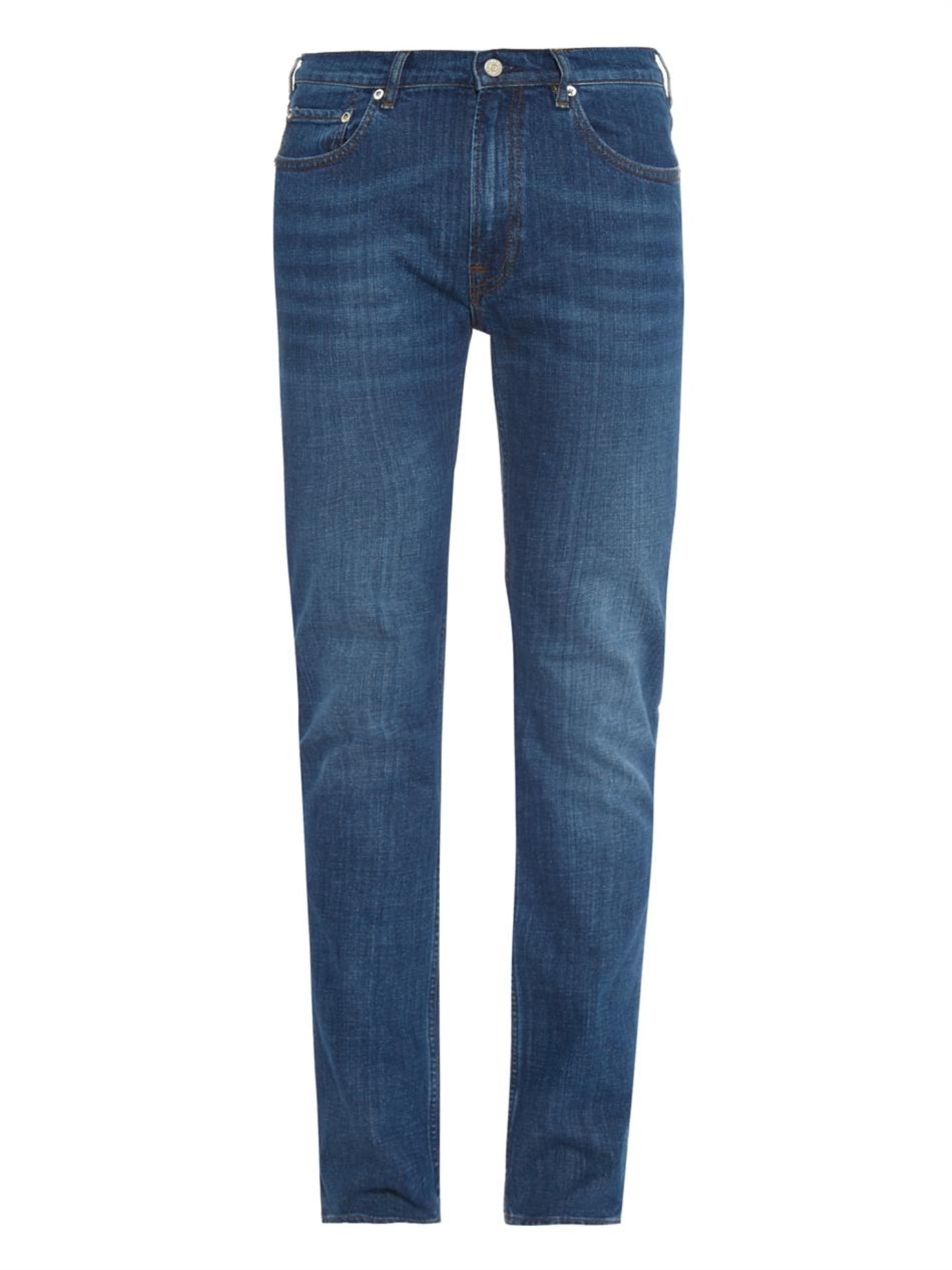 acne studios ace light vintage skinny jeans in blue for men lyst. Black Bedroom Furniture Sets. Home Design Ideas
