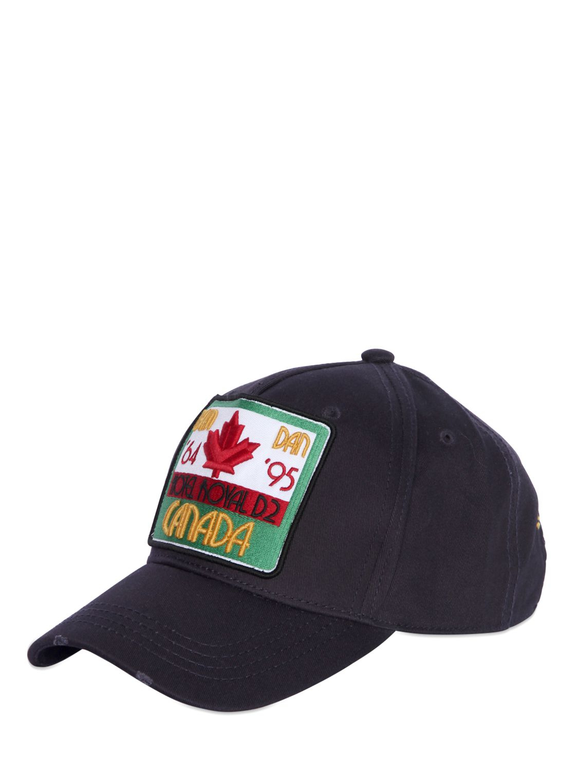 patch embroidered baseball cap - Blue Dsquared2 EvN60NqHU