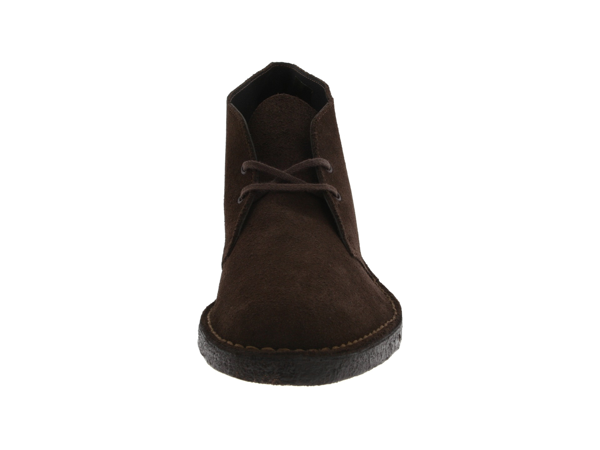 clarks desert boot in brown for lyst