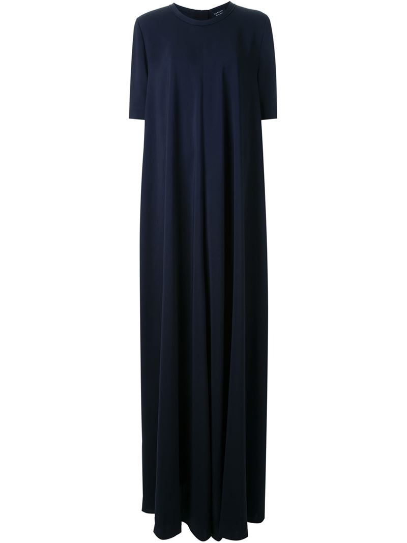 Lanvin Classic Evening Gown in Blue   Lyst