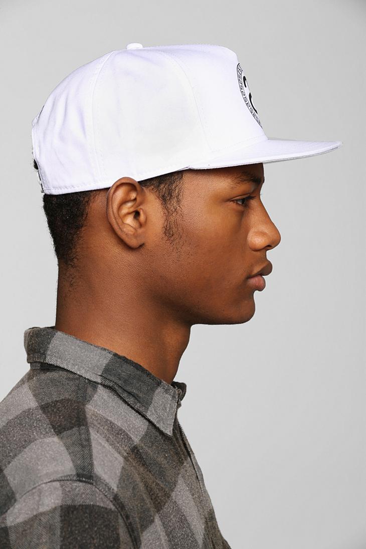 f6b61c78c56 Lyst - Stussy Greek Snapback Hat in White for Men