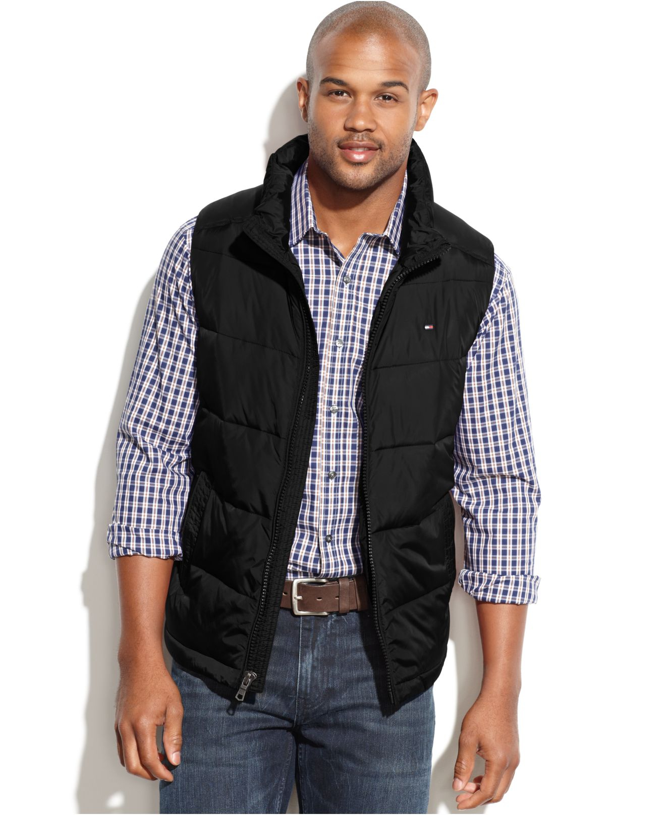 Lyst - Tommy hilfiger Big And Tall Performance Puffer Vest in ... : tommy hilfiger quilted vest - Adamdwight.com