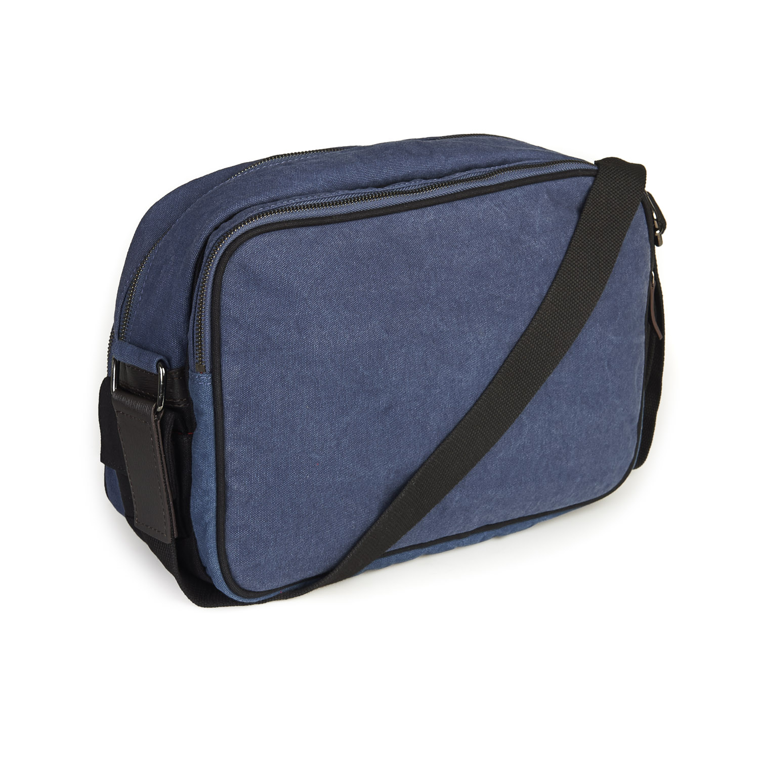 french connection blue canvas bag for men lyst. Black Bedroom Furniture Sets. Home Design Ideas