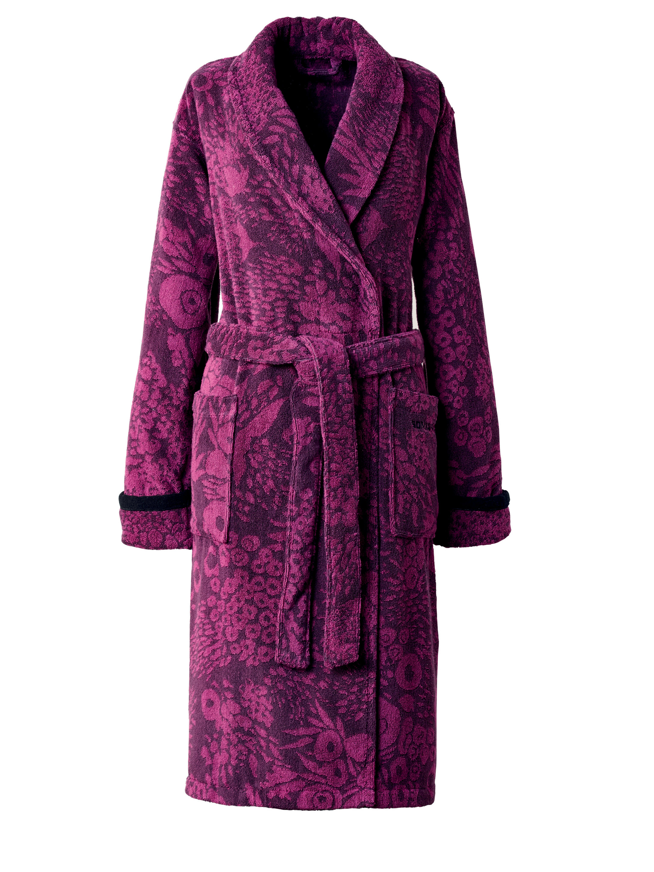 lyst sonia rykiel exclusive cotton robe in purple With robe sonia rykiel