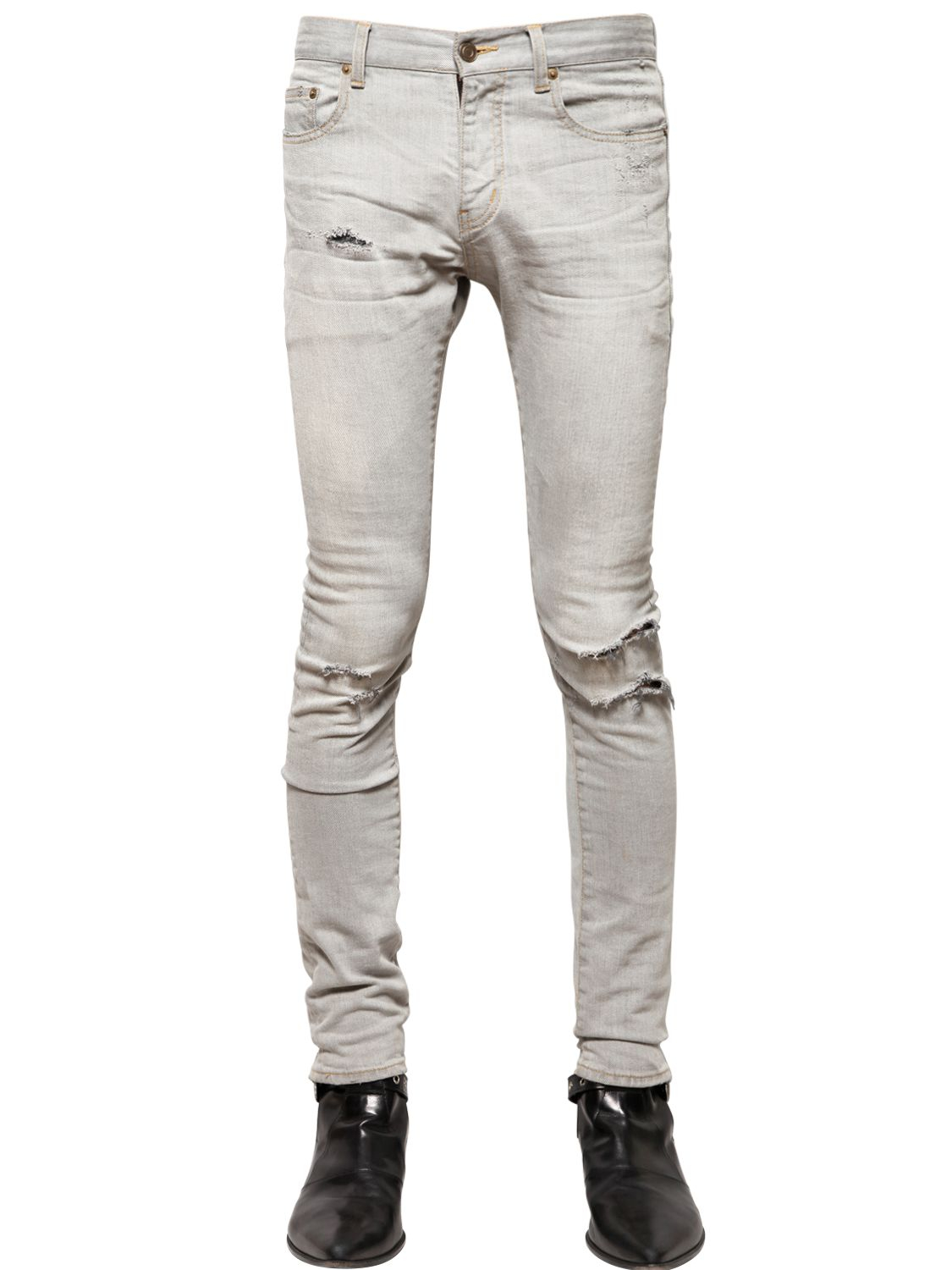 Mens Ripped Skinny Jeans