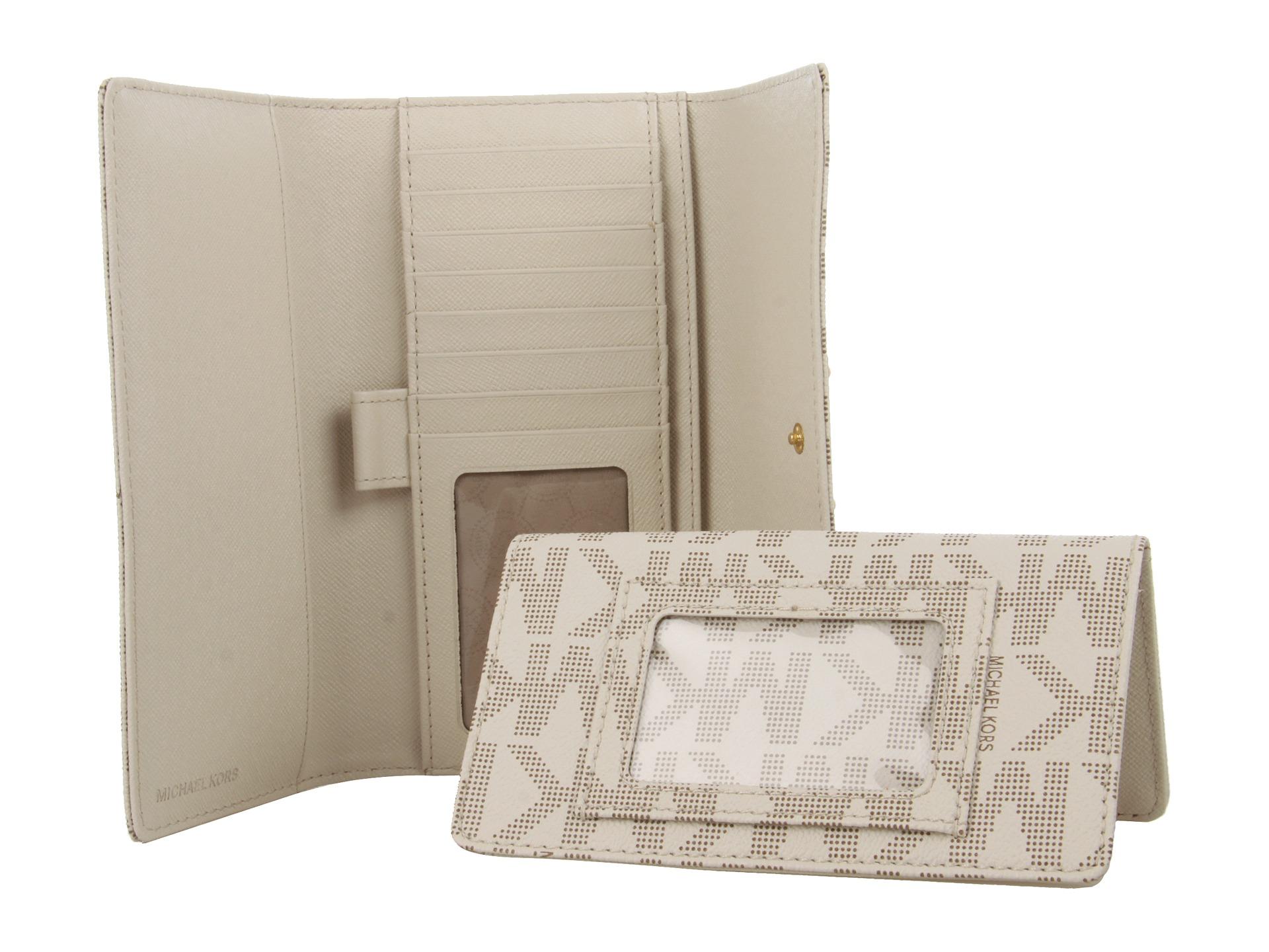 e7cfcec715d0 Michael Kors Wallet Vanilla Logo - The Best Wallet Produck