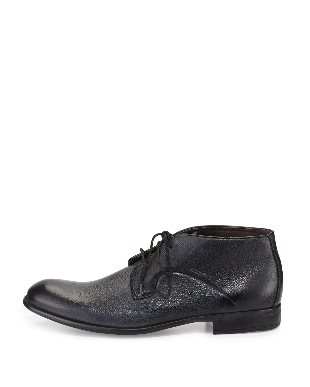 John varvatos Star S Commuter Chukka Boot in Black for Men | Lyst