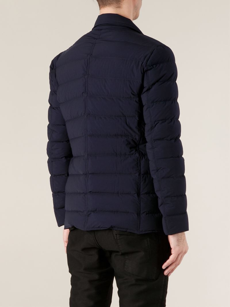 1cd672a4bc99 Lyst - Moncler  Deydier  Padded Jacket in Blue for Men