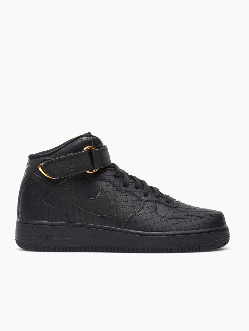 nike air force 1 mid 39 07 lv8 in black for men lyst. Black Bedroom Furniture Sets. Home Design Ideas
