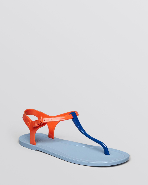 d1e298d33bdb HUNTER Jelly Thong Sandals - Original in Red - Lyst