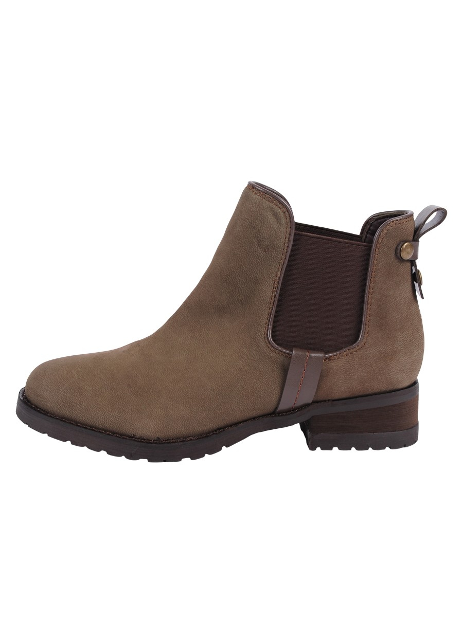 steve madden graaham faux suede ankle boots in brown lyst