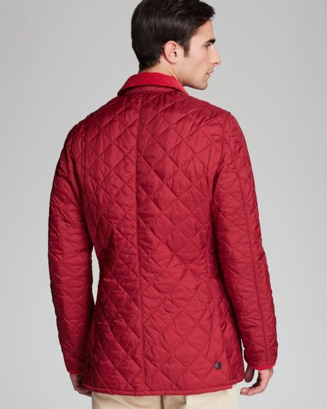 Barbour Pantone Collection Chip Diamond Quilted Jacket In