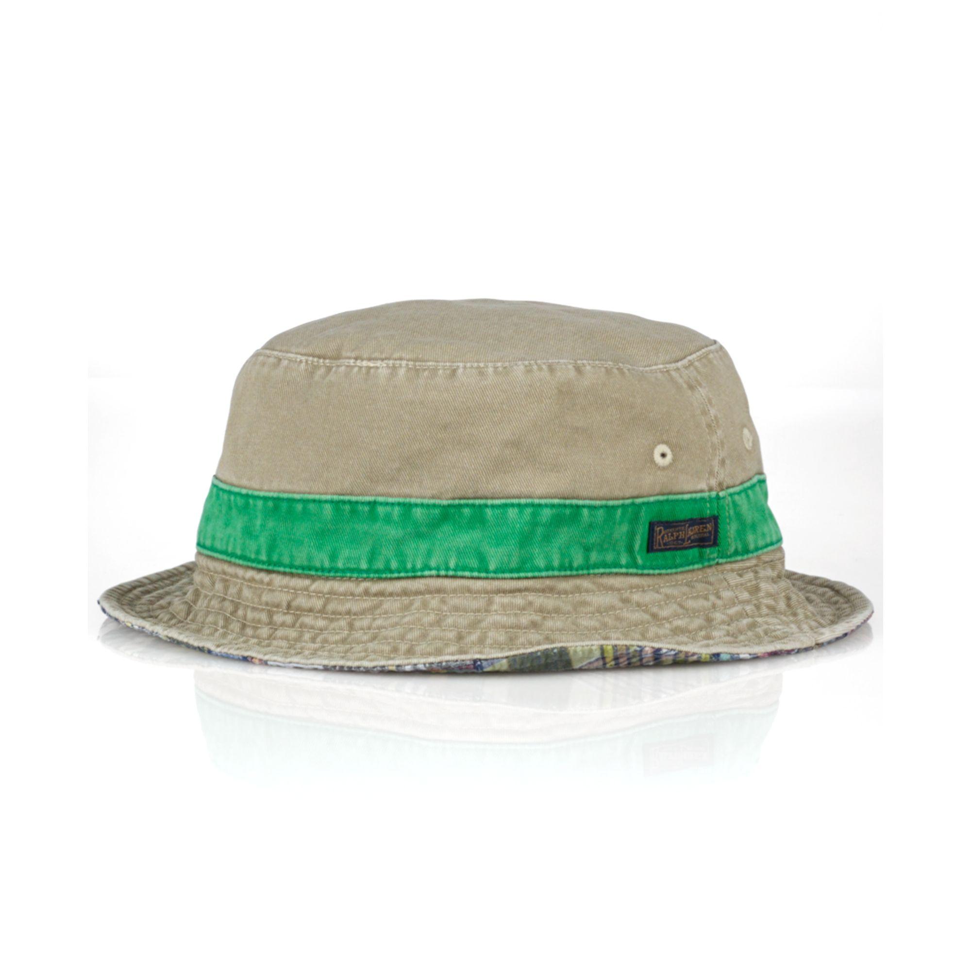 78258cff522 Gallery. Previously sold at  Macy s · Men s Bucket Hats Men s Wide Brim Hats  Men s Ralph Lauren ...