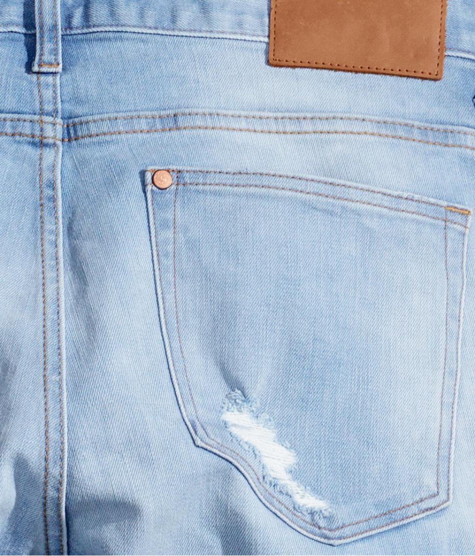 f7bd6b2a576 H&M Slim Low Jeans in Blue for Men - Lyst