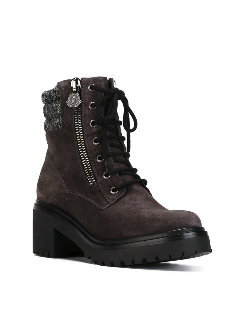 Moncler New Viviane suede ankle boots outlet best store to get xFVy6jXlH5
