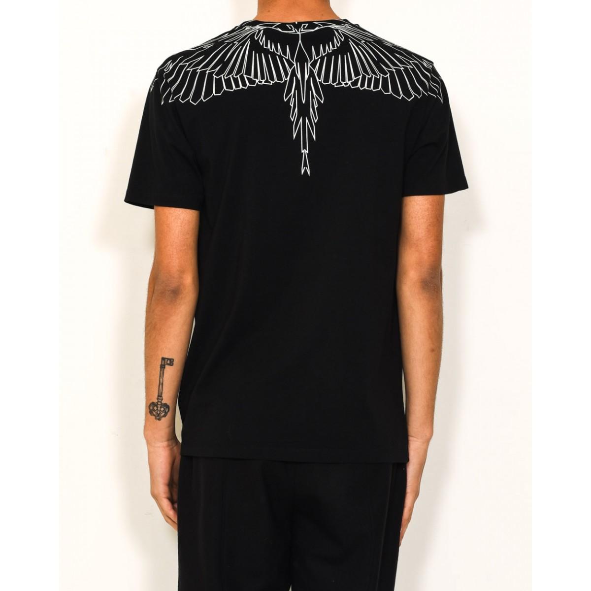 Marcelo Burlon Maipu T Shirt In Black For Men Lyst