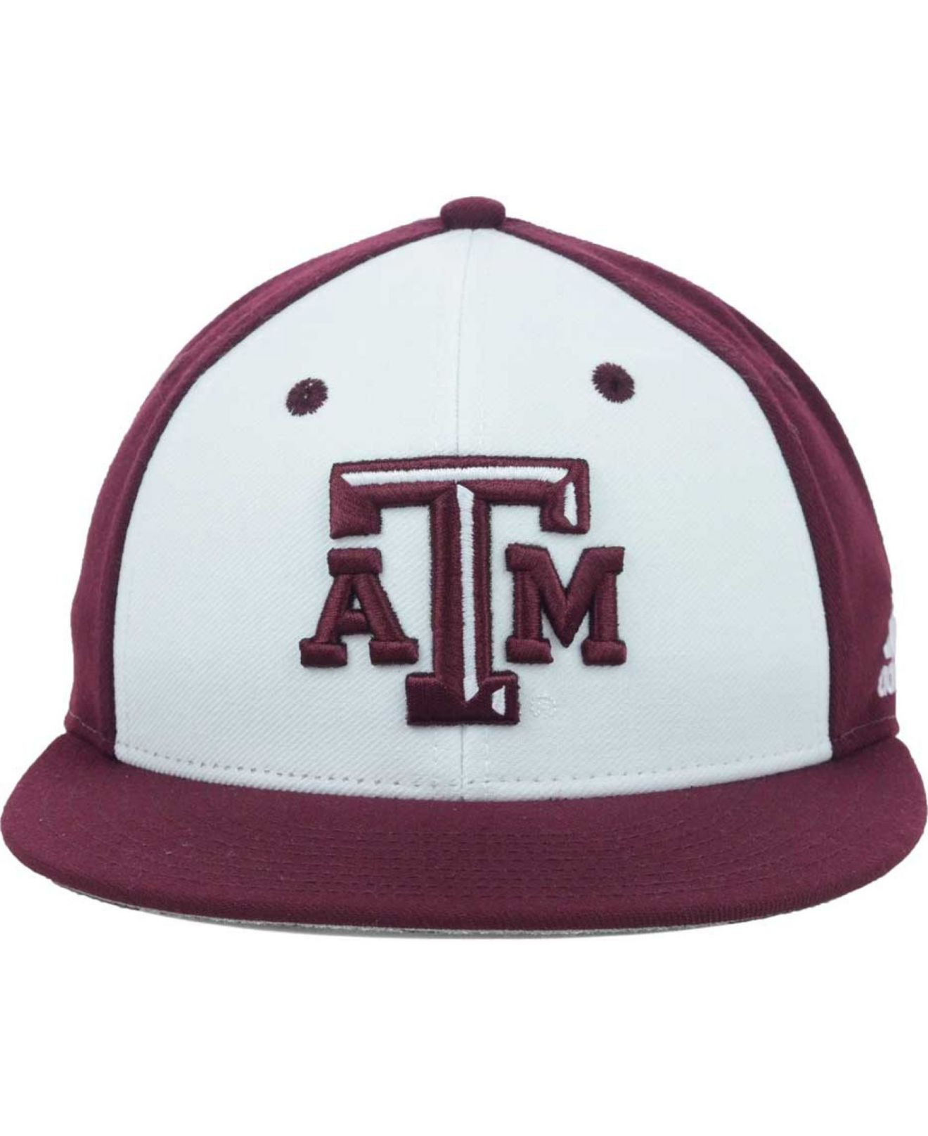 timeless design 16b17 79f0e adidas Texas A M Aggies Ncaa On Field Baseball Cap in White for Men ...