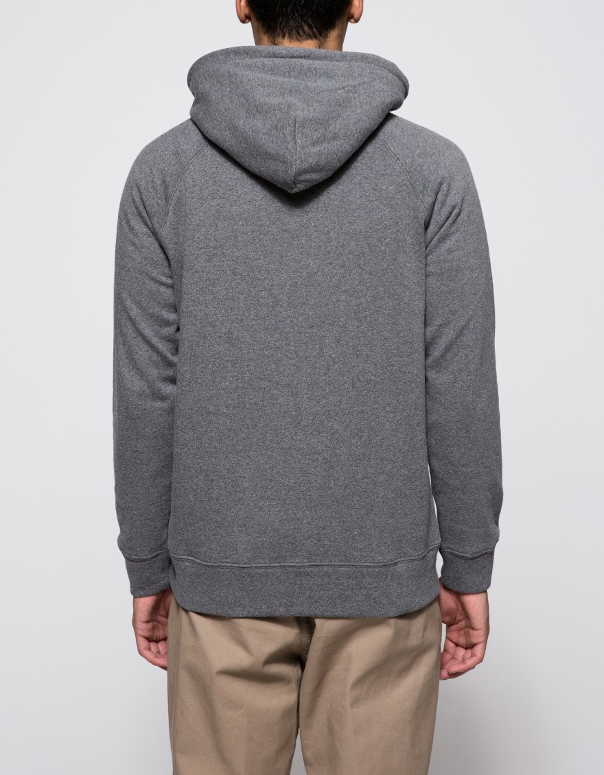 obey lofty creature comfort pullover in gray for men lyst. Black Bedroom Furniture Sets. Home Design Ideas