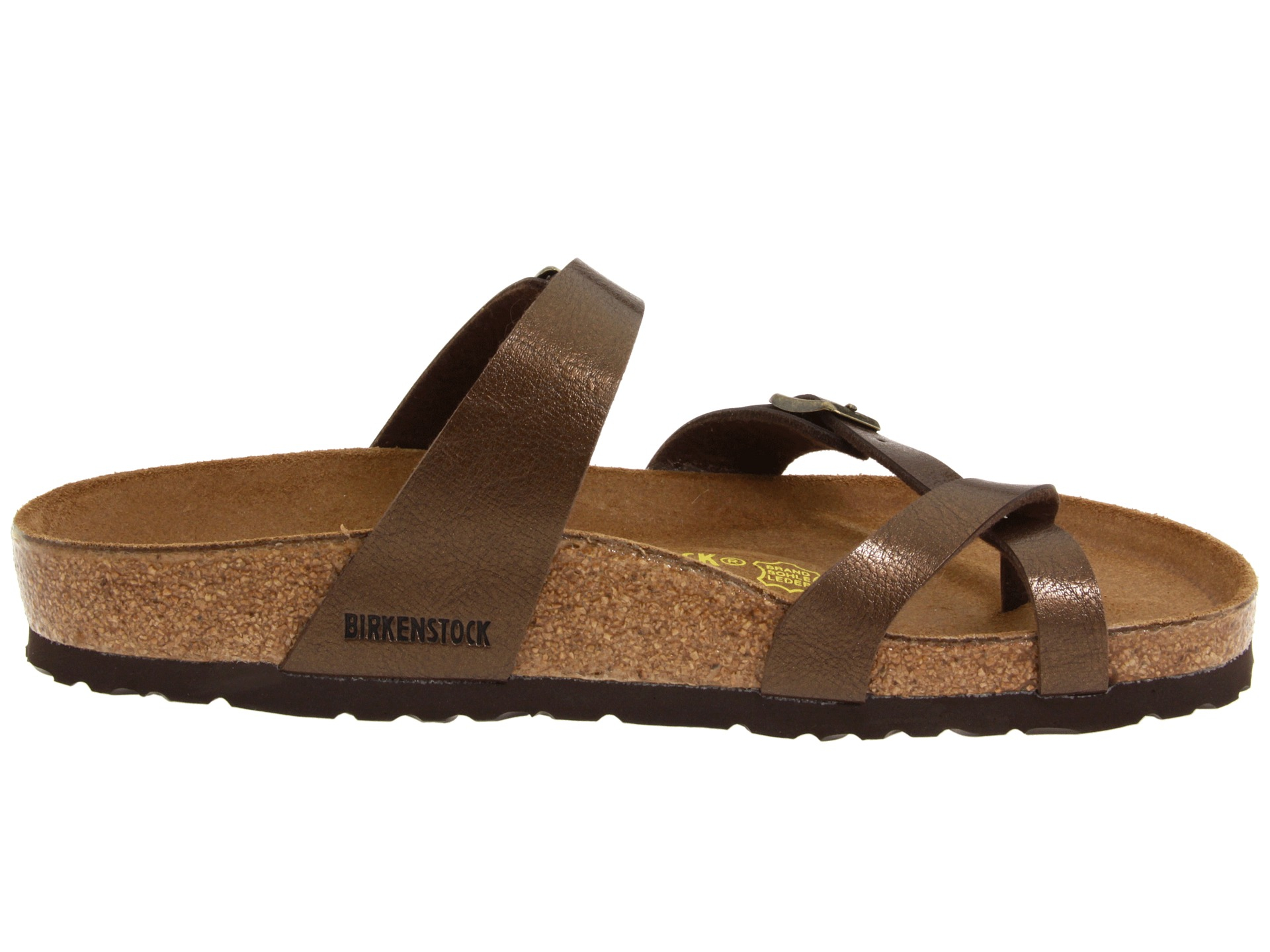 Birkenstock Mayari Cross Strap Sandals In Natural Mocha