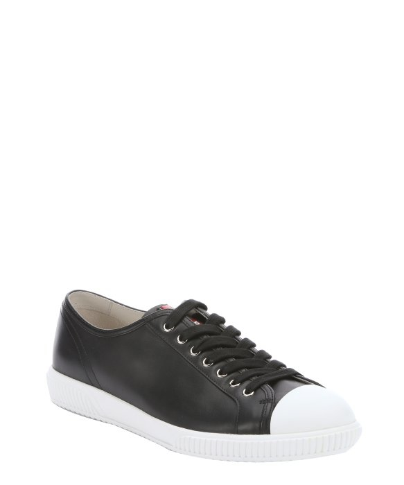 reliable cheap price Inexpensive cheap online Prada Sport Logo Round-Toe Sneakers buy cheap sale wCMPXit