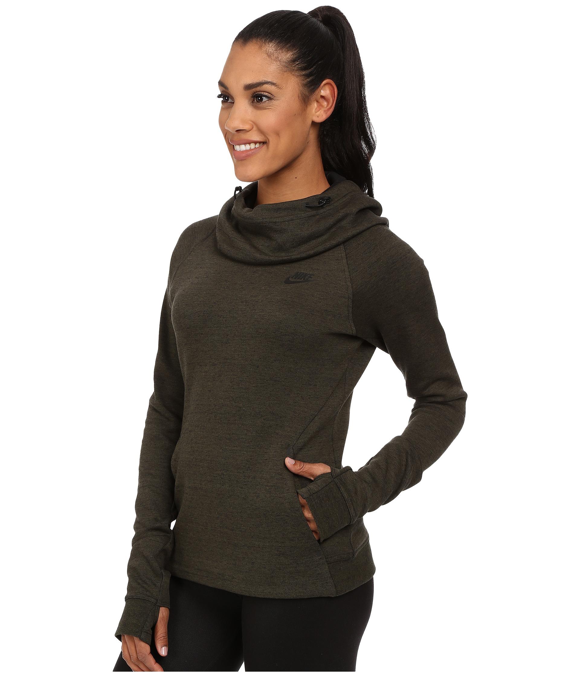 ... sale retailer 46d2b 1e671 Lyst - Nike Tech Fleece Hoodie in Brown ... 6d855167b0