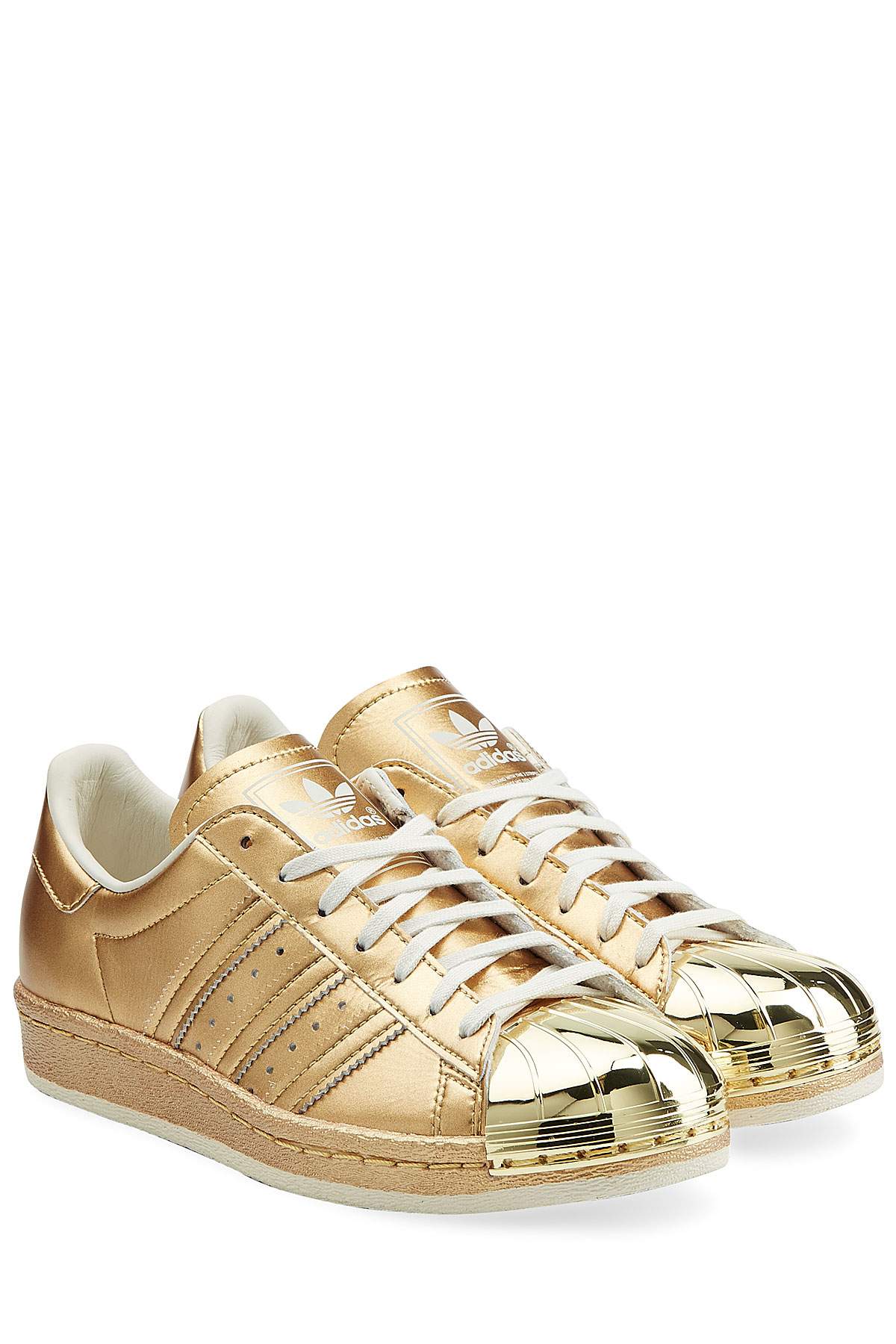 Adidas Cap-Toe Leather Sneakers free shipping pay with paypal 6ECl9S5pZN
