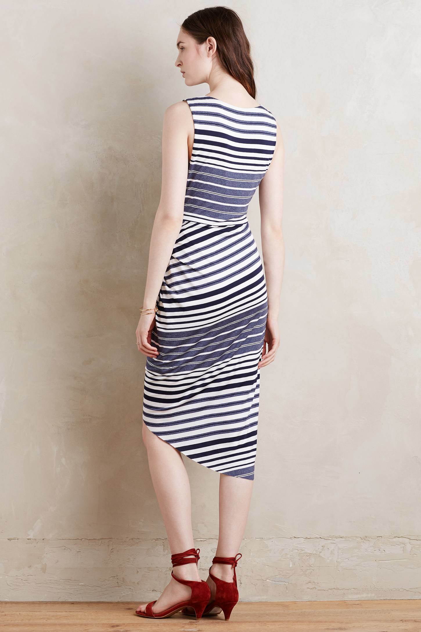 Bailey 44 striped maxi dress