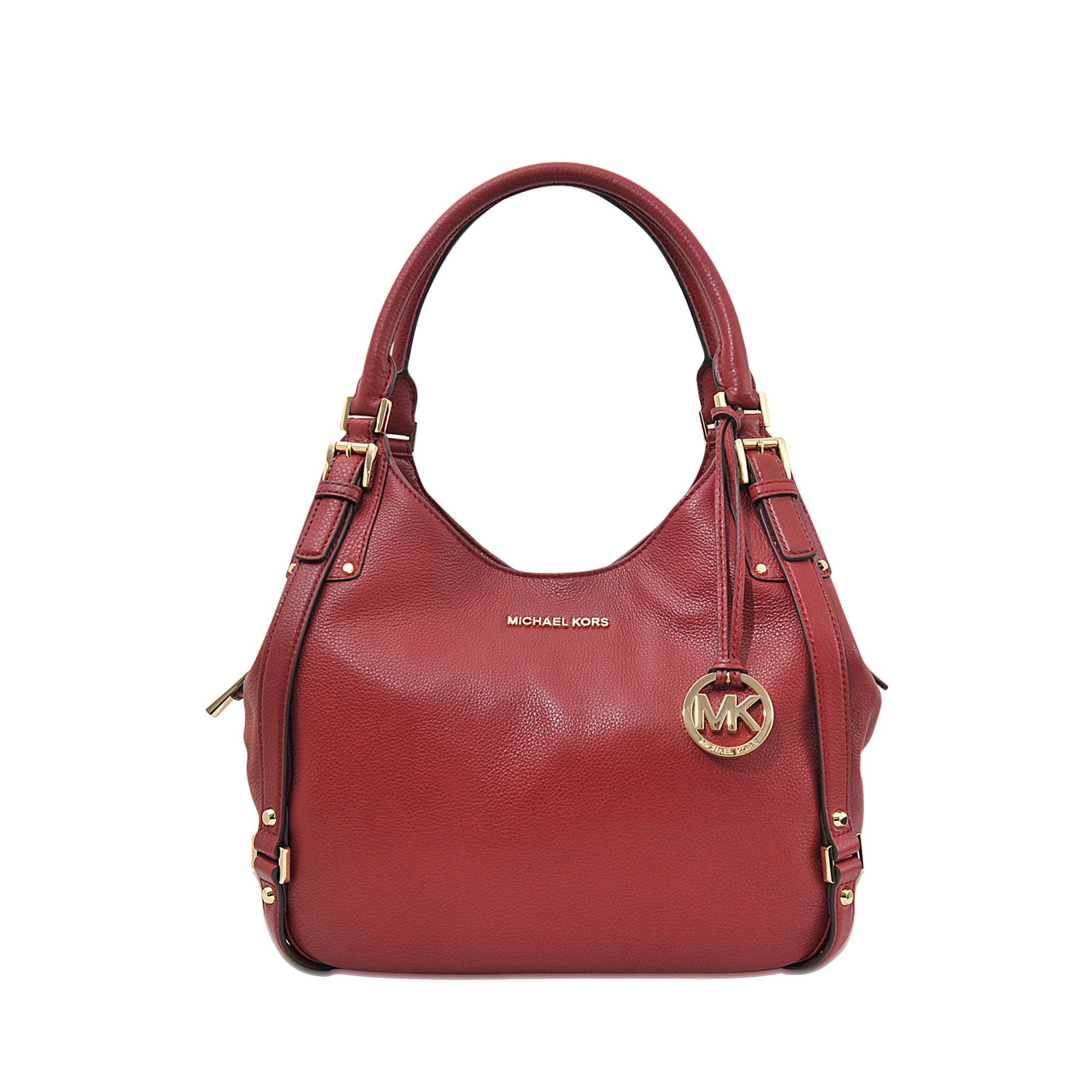 1cd169a54196 MICHAEL Michael Kors Bedford Large Shoulder Tote in Red - Lyst