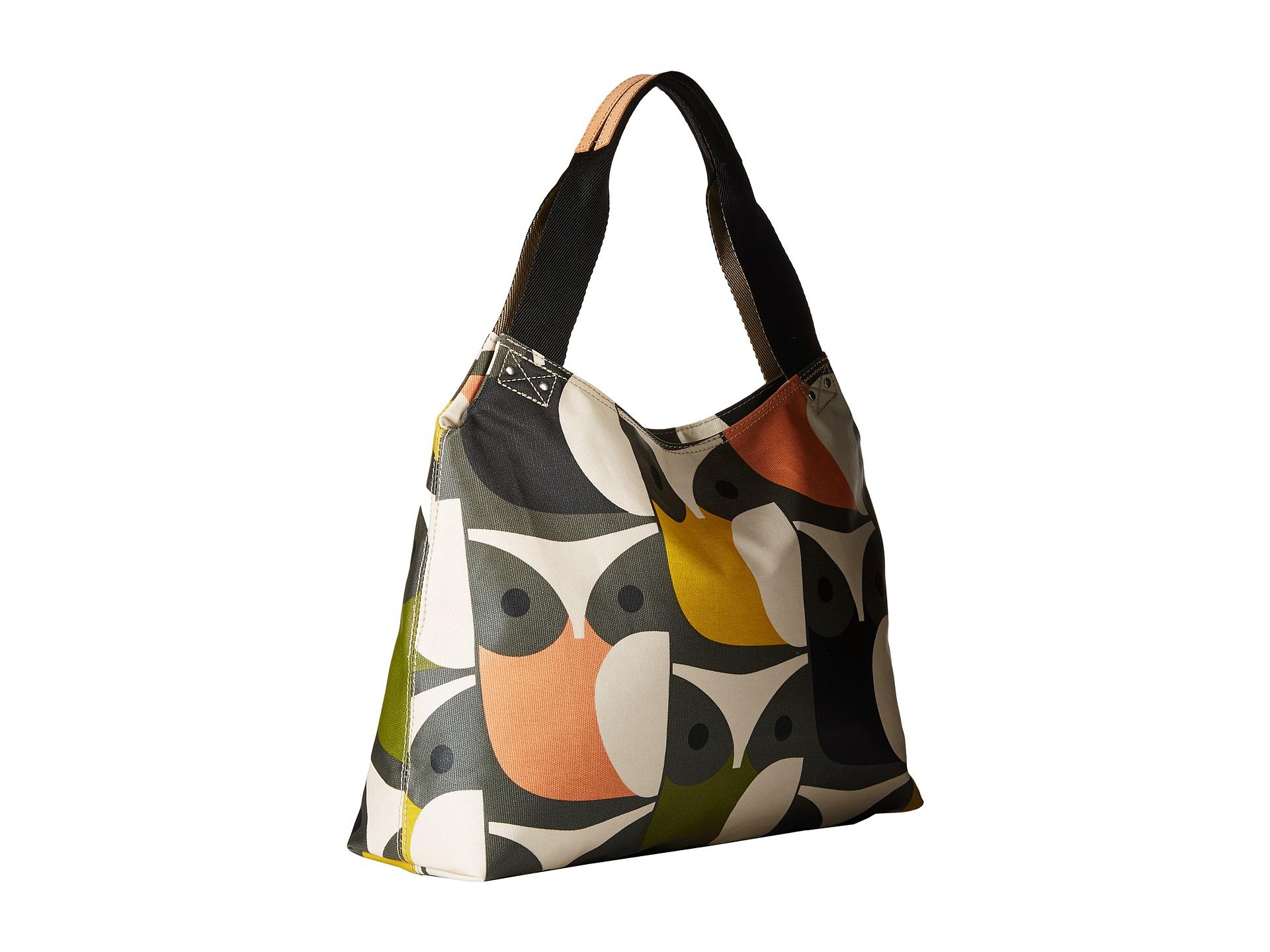 Lyst - Orla Kiely Matt Laminated Big Owl Print Classic Zip Shoulder Bag 8f9ad1db9e61a