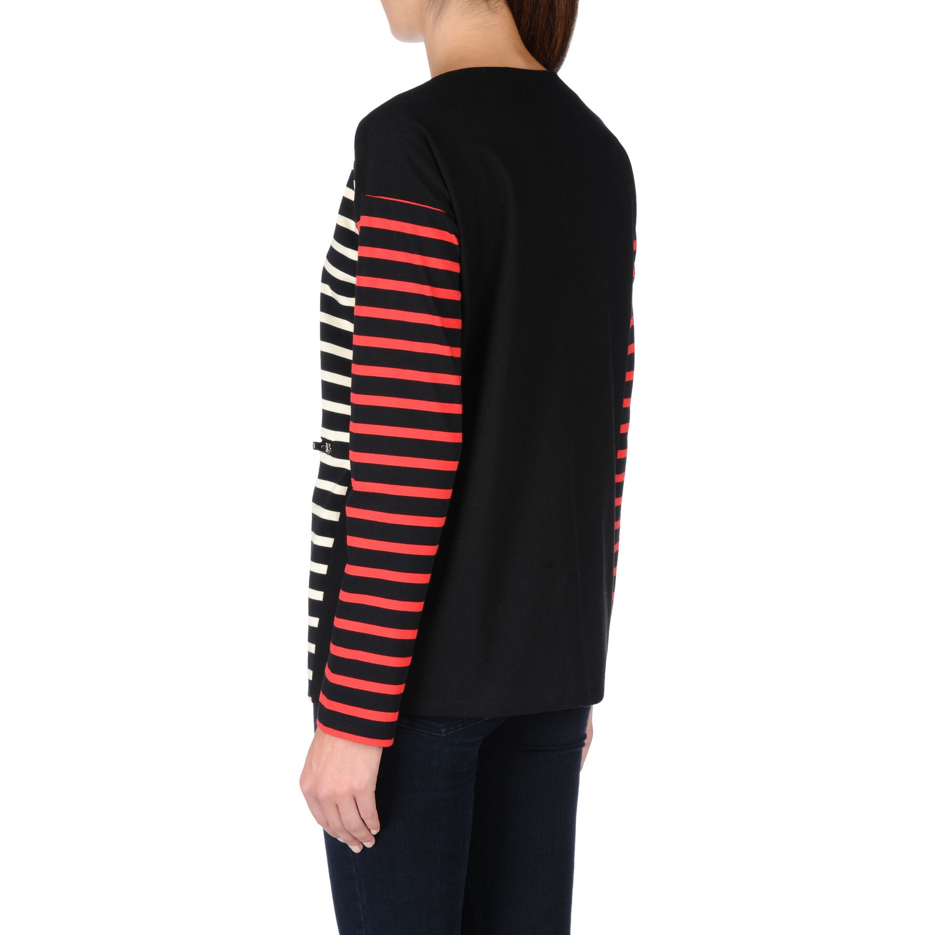 Lyst Stella Mccartney Stripes Long Sleeved T Shirt In Red