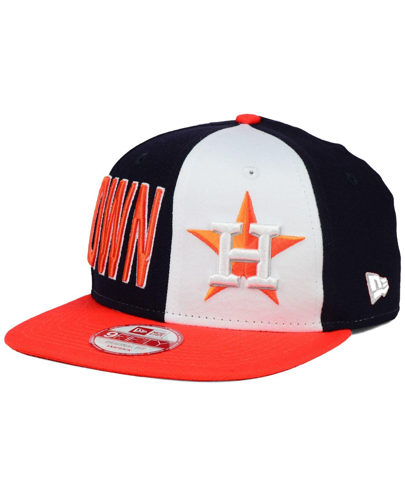 best website b3ed8 9f9b9 Lyst - KTZ Houston Astros My Block 9fifty Snapback Cap in Blue for Men