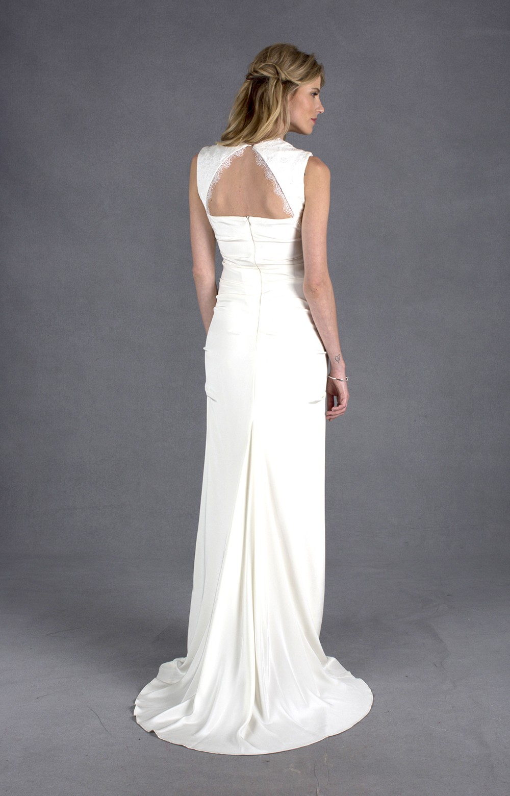 marie gown nicole miller wedding dresses Nicole Miller ivory Marie Gown BHLDN