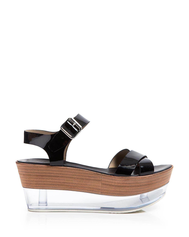 agl attilio giusti leombruni platform wedge sandals