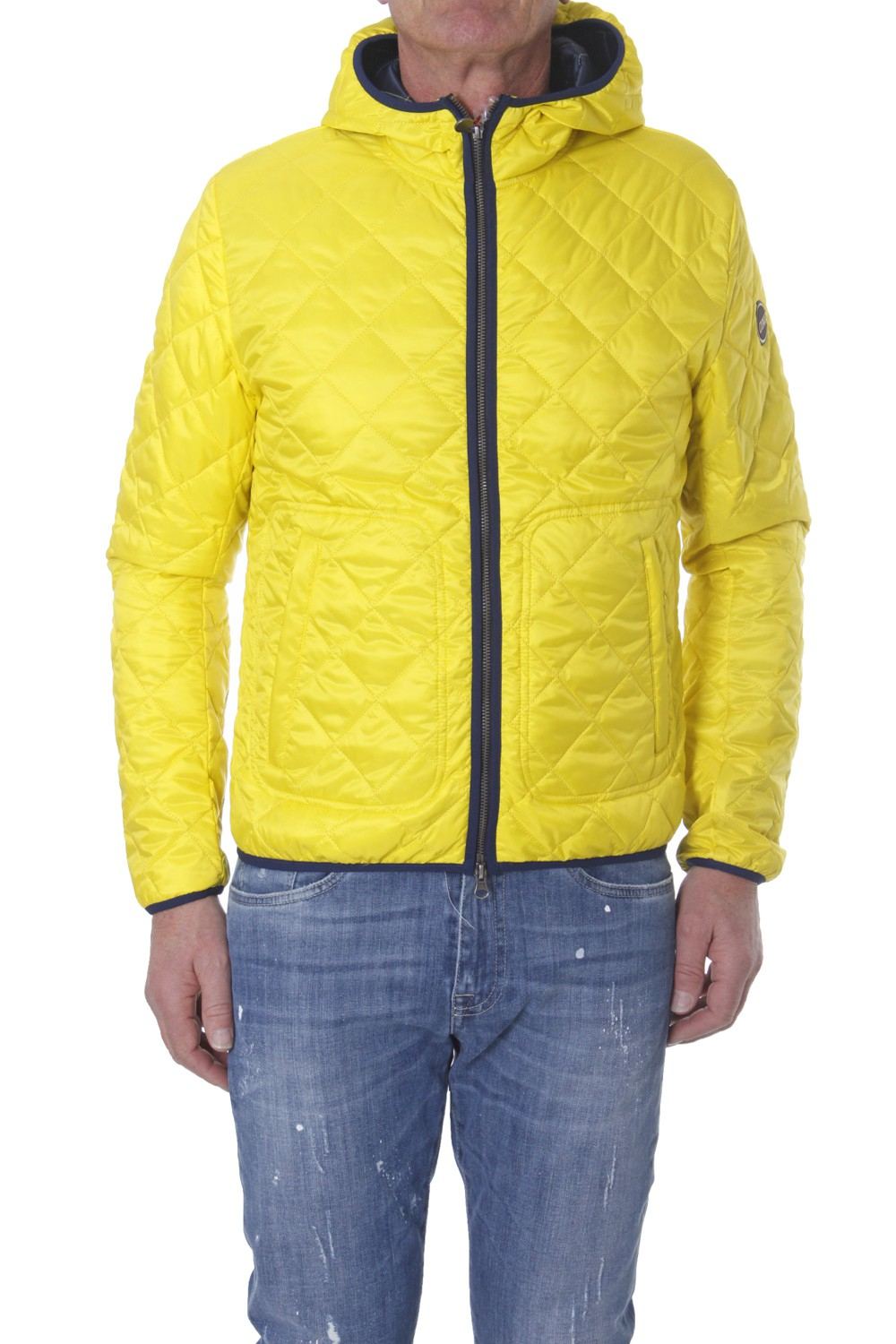 colmar blue jacket in yellow for men yellow giallo lyst. Black Bedroom Furniture Sets. Home Design Ideas