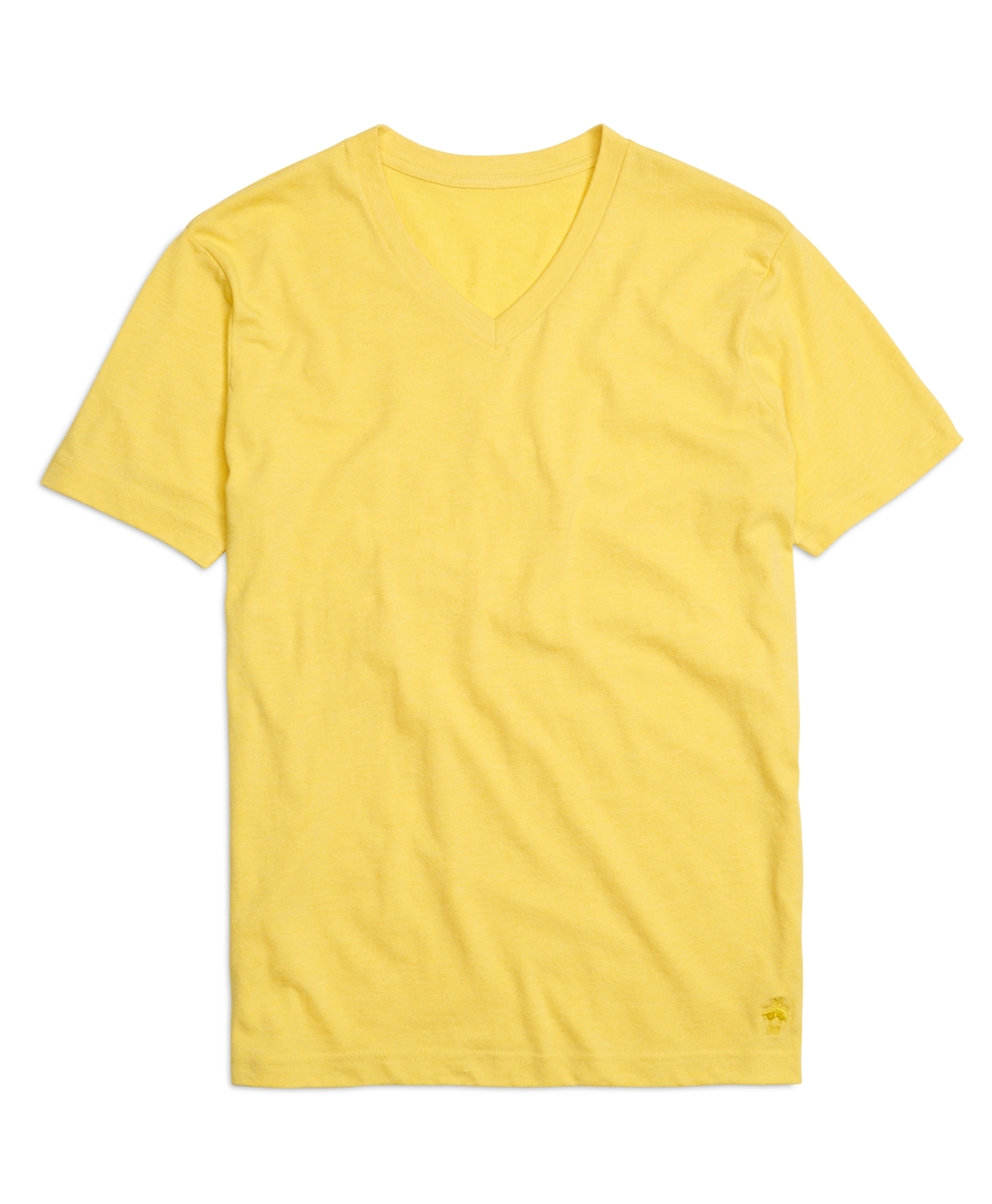 Brooks Brothers Recycled Fiber Basic V Neck Tee Shirt In